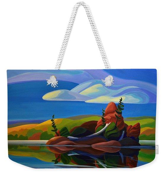 Autumn Island Weekender Tote Bag