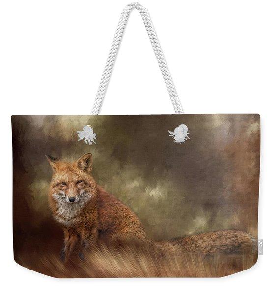 Autumn Journey Weekender Tote Bag
