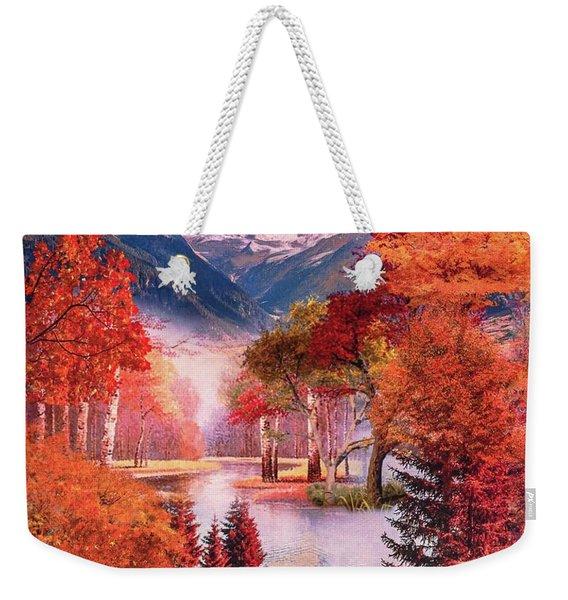 Autumn Landscape 1 Weekender Tote Bag