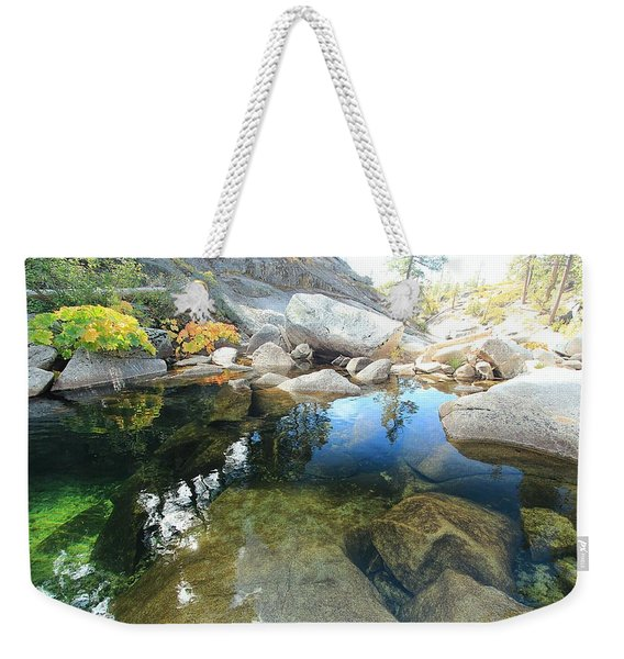 Autumn Liquid Dreamscape Weekender Tote Bag