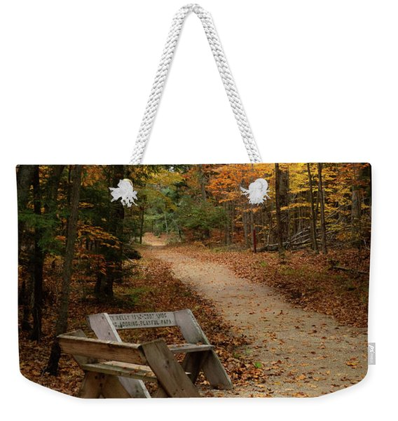 Autumn Meetup Weekender Tote Bag