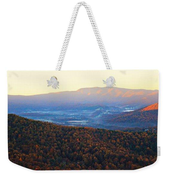 Autumn Mountains  Weekender Tote Bag