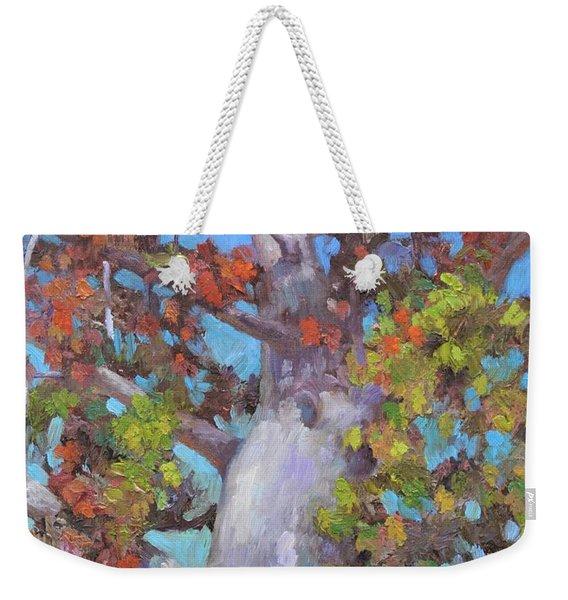 Autumn Oak Weekender Tote Bag