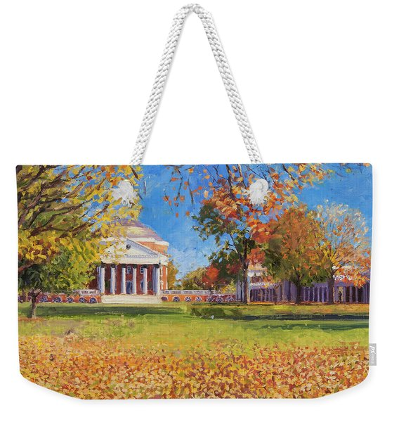 Autumn On The Lawn Weekender Tote Bag
