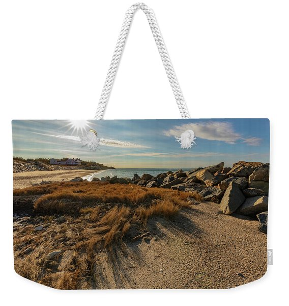 Autumn Rays Over Cape Cod Weekender Tote Bag