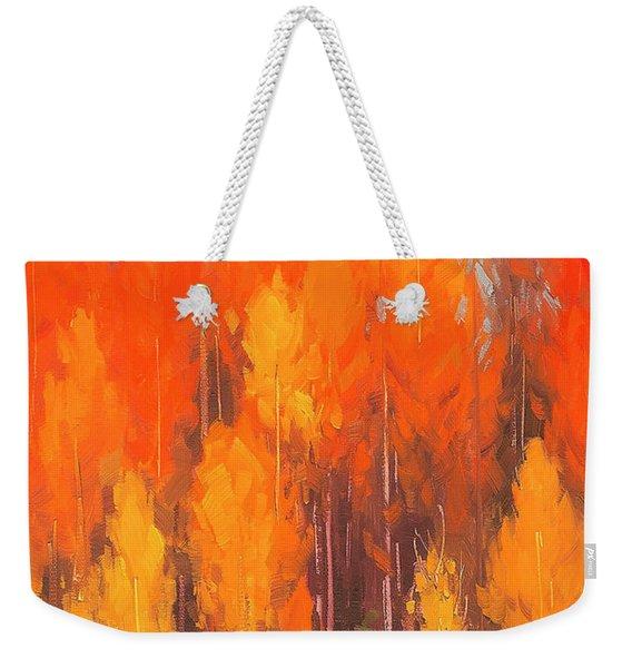 Autumn Repose Weekender Tote Bag