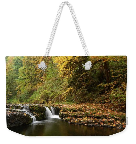 Autumn Scene Weekender Tote Bag