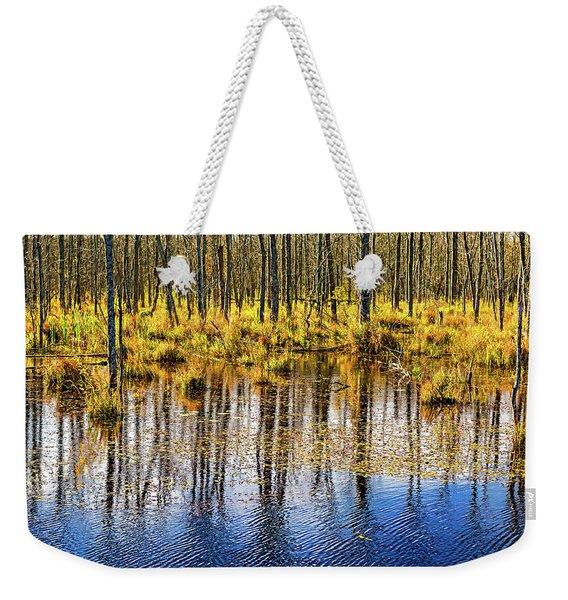 Autumn Slough 4 Weekender Tote Bag