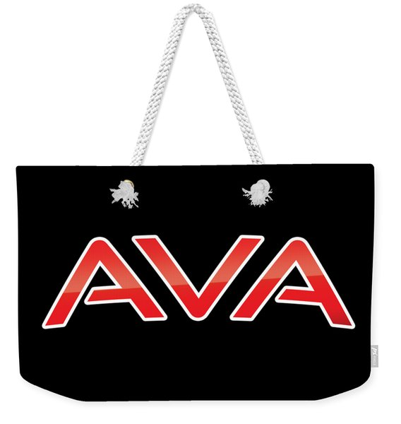 Ava Weekender Tote Bag