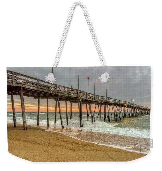 Avalon Pier - Kill Devil Hills Nc Weekender Tote Bag