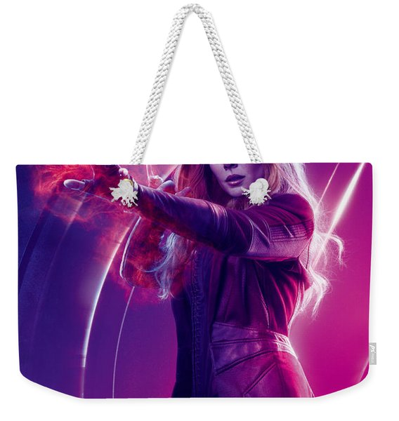 Avengers Scarlet Witch  Marvel Cinematic Universe Weekender Tote Bag