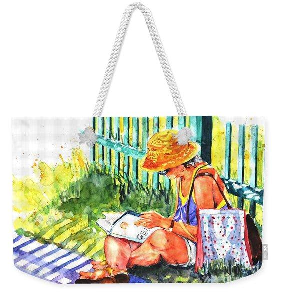 Avid Reader #2 Weekender Tote Bag
