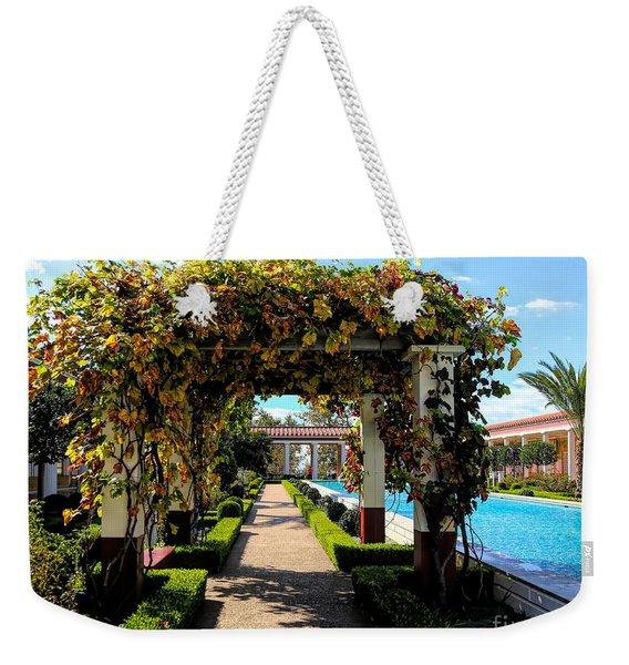 Awesome J Paul Getty Villa Pacific Palisades California  Weekender Tote Bag