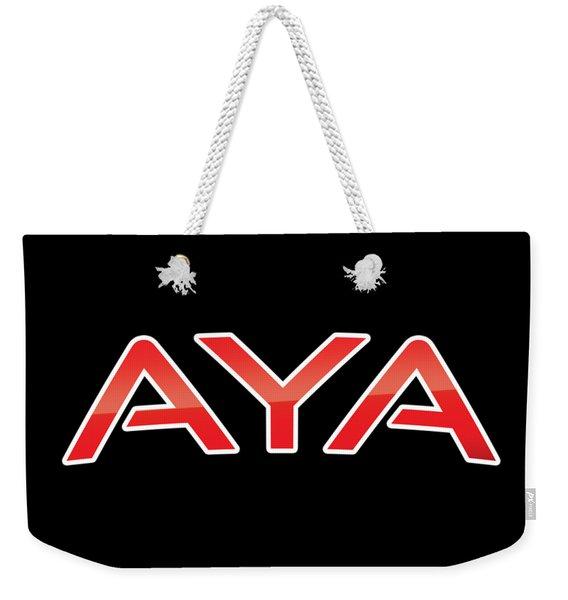 Aya Weekender Tote Bag