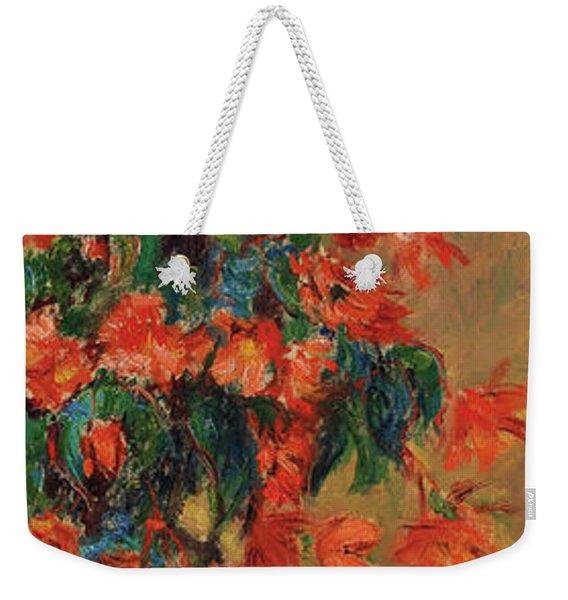 Azaleas Rouges En Pot, 1883  Weekender Tote Bag