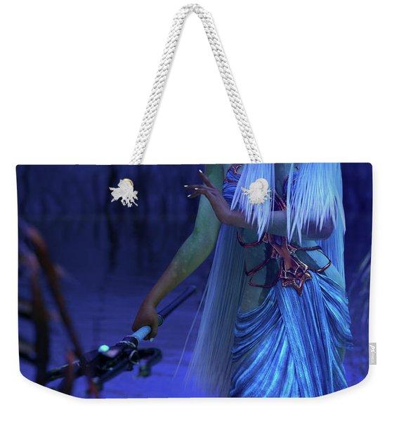 Azure Weekender Tote Bag