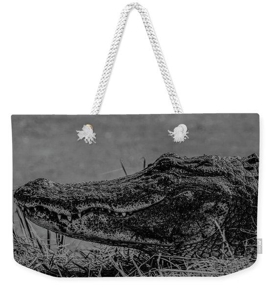 B And W Gator Weekender Tote Bag