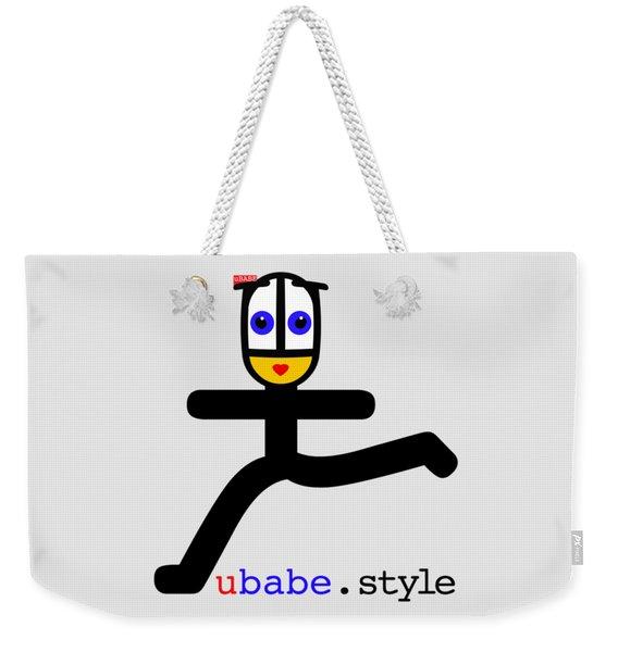 Babe Runner Weekender Tote Bag