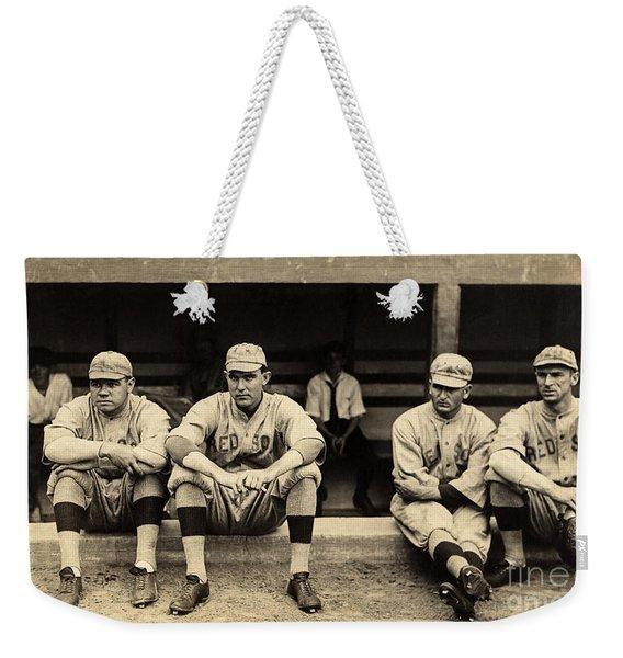 Babe Ruth 1915 Weekender Tote Bag
