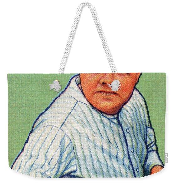 Babe Ruth Baseball Card 1933 Weekender Tote Bag
