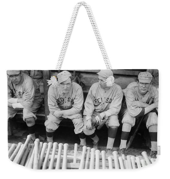Babe Ruth Weekender Tote Bag