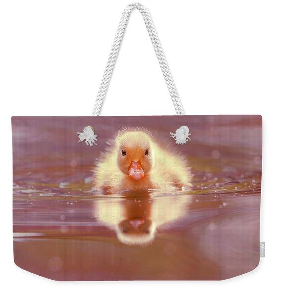 Baby Animal Series - Baby Duckling Weekender Tote Bag