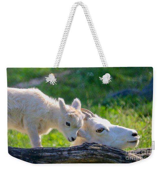 Baby Loves Mama Weekender Tote Bag