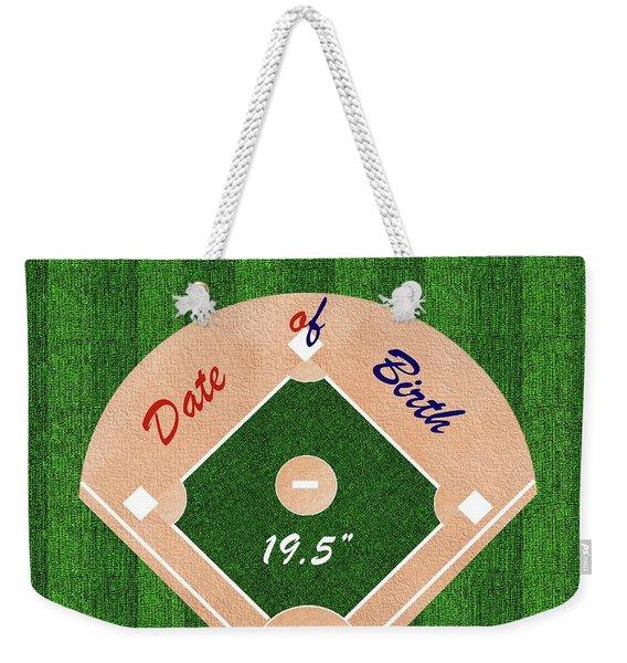 Baby's Commemorative Gift Weekender Tote Bag