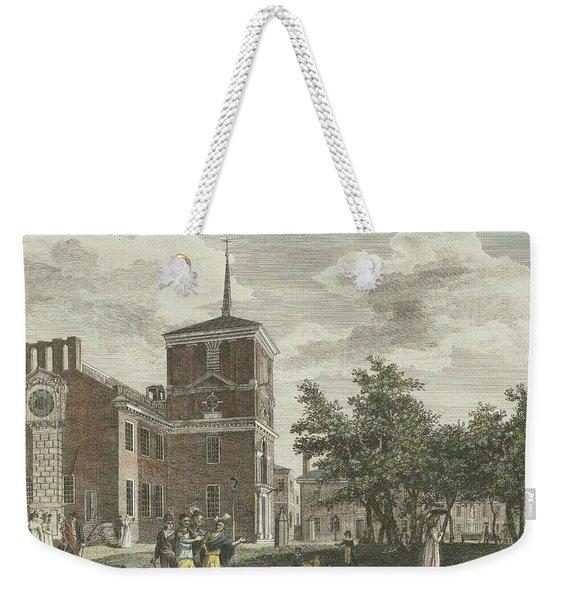 Back Of State House Weekender Tote Bag