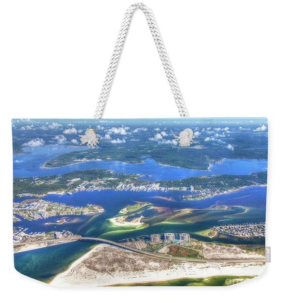 Backwaters 5122 Tonemapped Weekender Tote Bag
