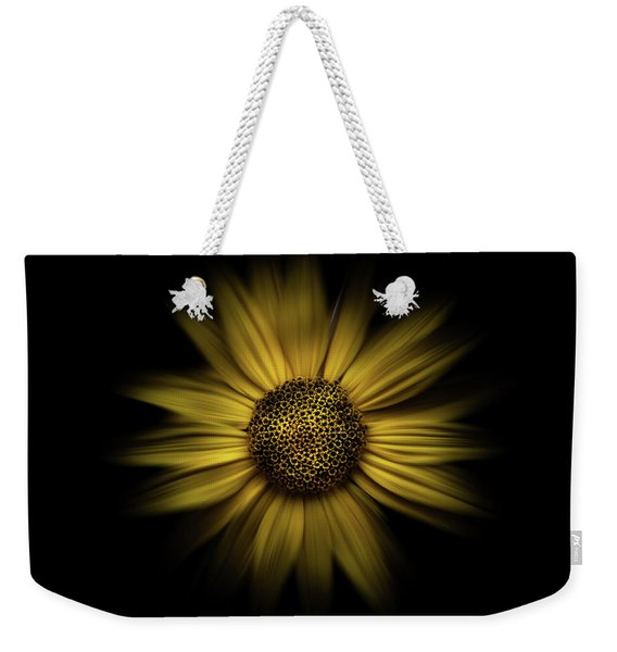 Backyard Flowers 18 Color Flow Version Weekender Tote Bag