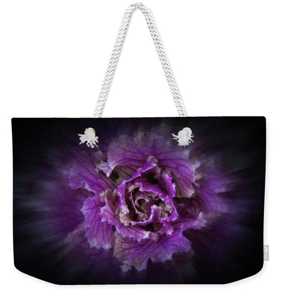 Backyard Flowers 42 Color Flow Version Weekender Tote Bag