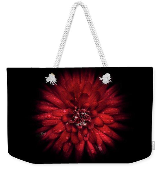 Backyard Flowers 45 Color Flow Version Weekender Tote Bag