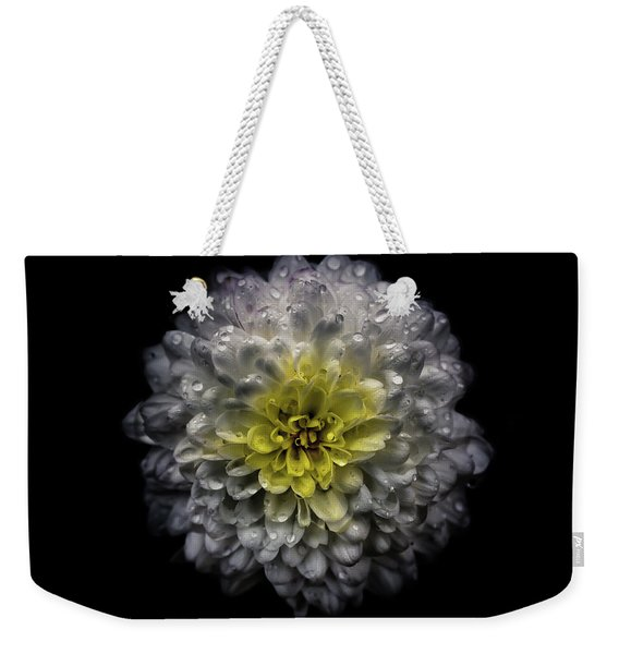 Backyard Flowers 46 Color Version Weekender Tote Bag