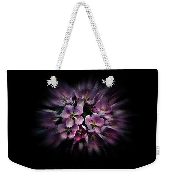 Backyard Flowers 47 Color Flow Version Weekender Tote Bag