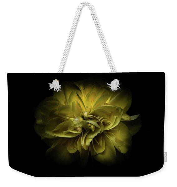 Backyard Flowers 67 Color Version Weekender Tote Bag