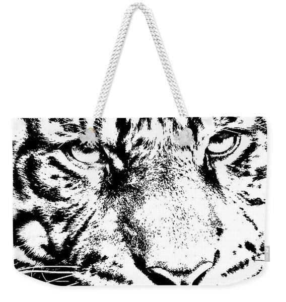 Bad Kitty Weekender Tote Bag