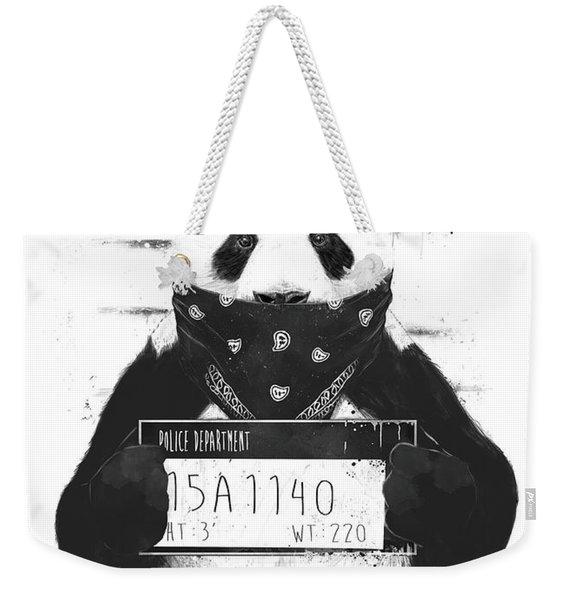 Bad Panda Weekender Tote Bag