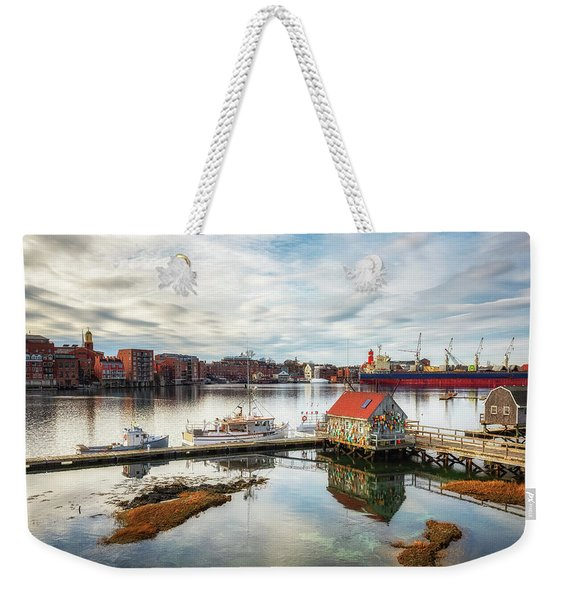 Badger Island And Portsmouth Weekender Tote Bag
