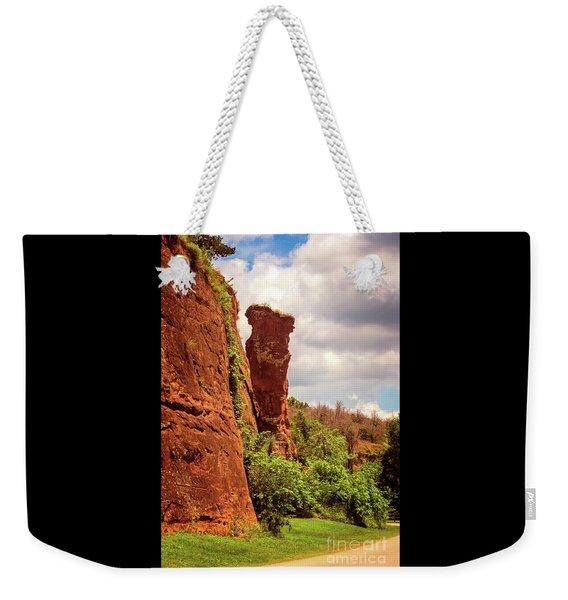 Balancing Rock Weekender Tote Bag