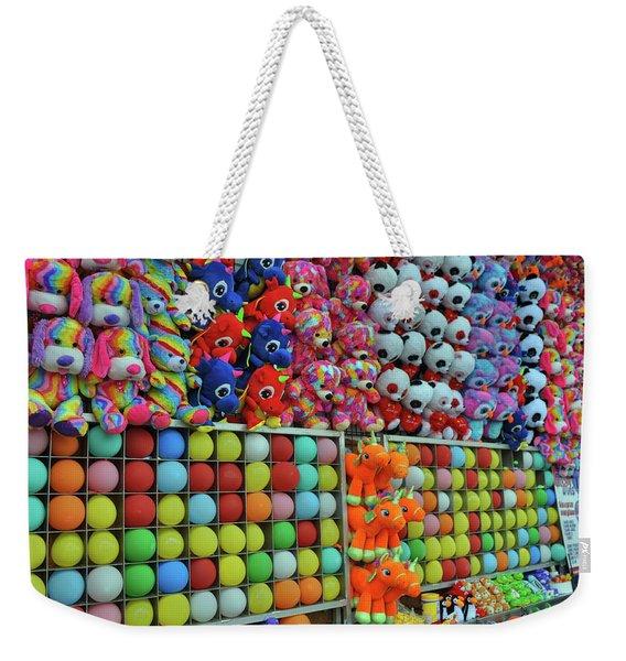 Balloon Games Weekender Tote Bag