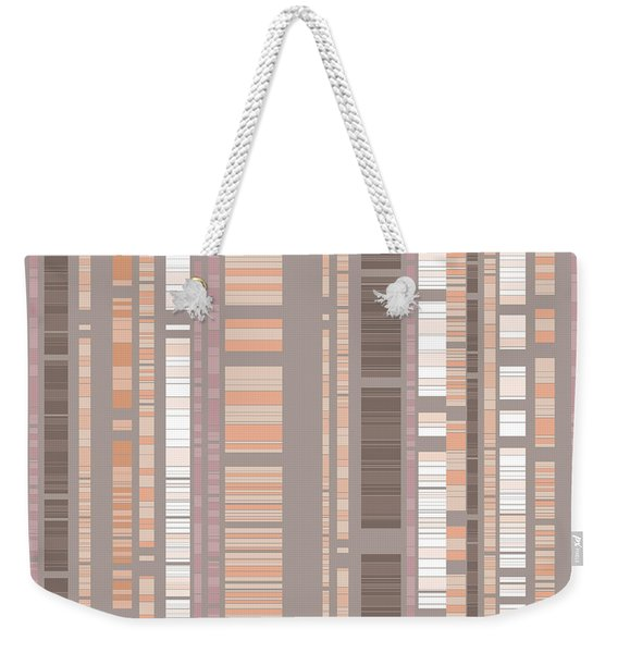 Bamboo Forest Abstract Weekender Tote Bag