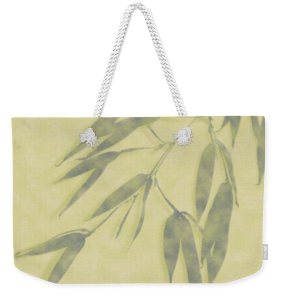 Bamboo Leaves 0580b Weekender Tote Bag