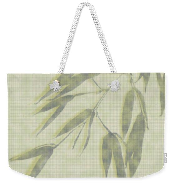 Bamboo Leaves 0580c Weekender Tote Bag