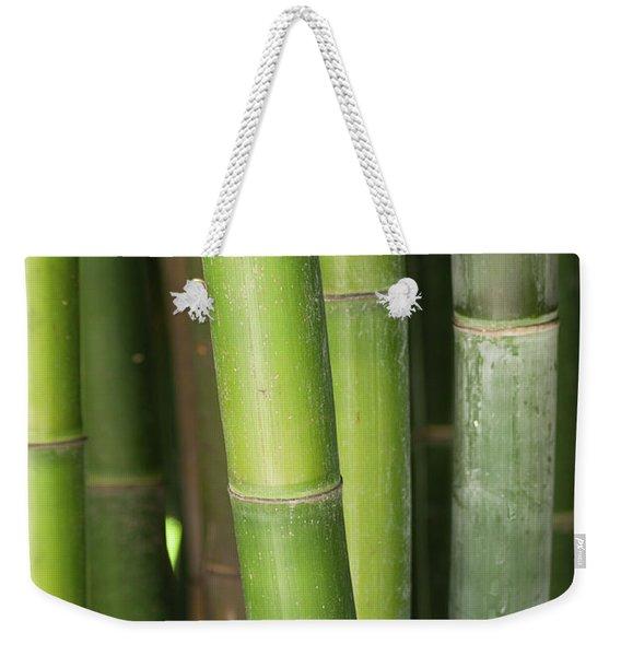 Bamboo Stalk 4057 Weekender Tote Bag