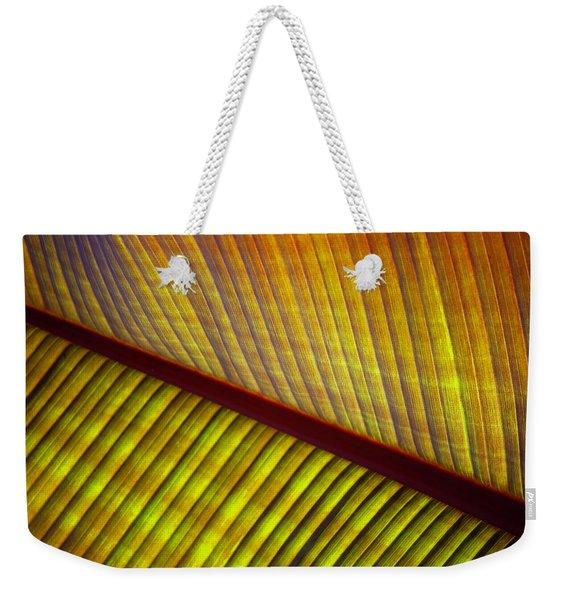 Banana Leaf 8602 Weekender Tote Bag