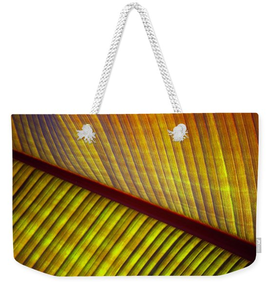 Banana Leaf 8603 Weekender Tote Bag