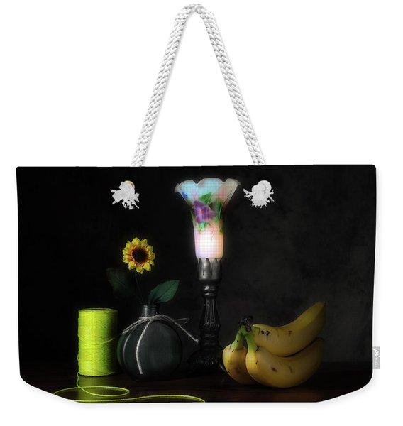 Banana Yellow Weekender Tote Bag