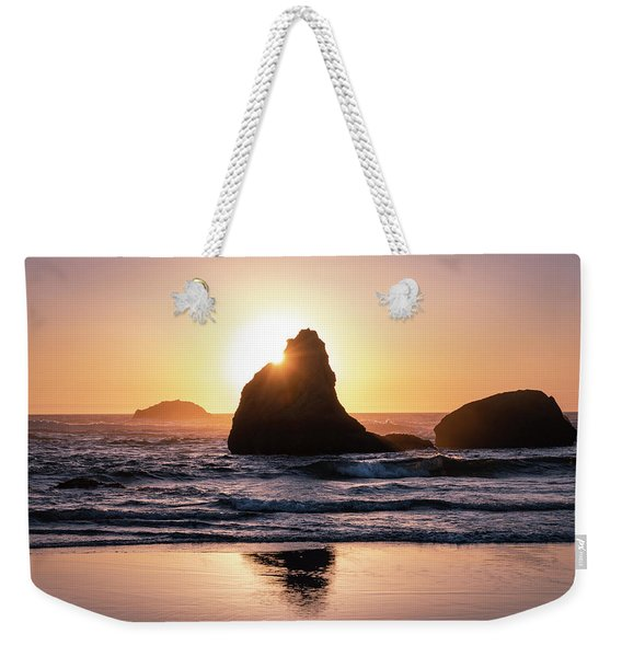 Bandon Light Weekender Tote Bag