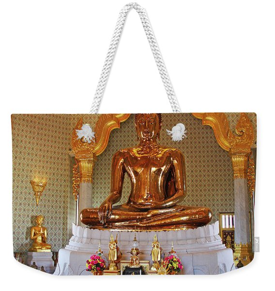 Bangkok, Thailand - Golden Buddha Weekender Tote Bag